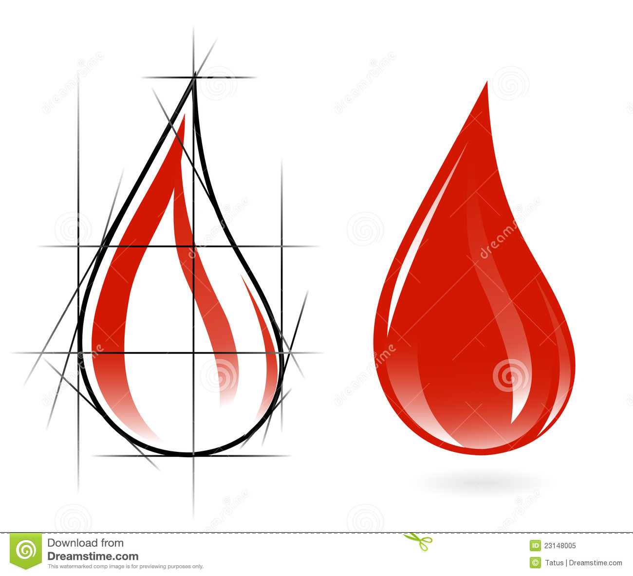 How To Draw Realistic Blood Drops