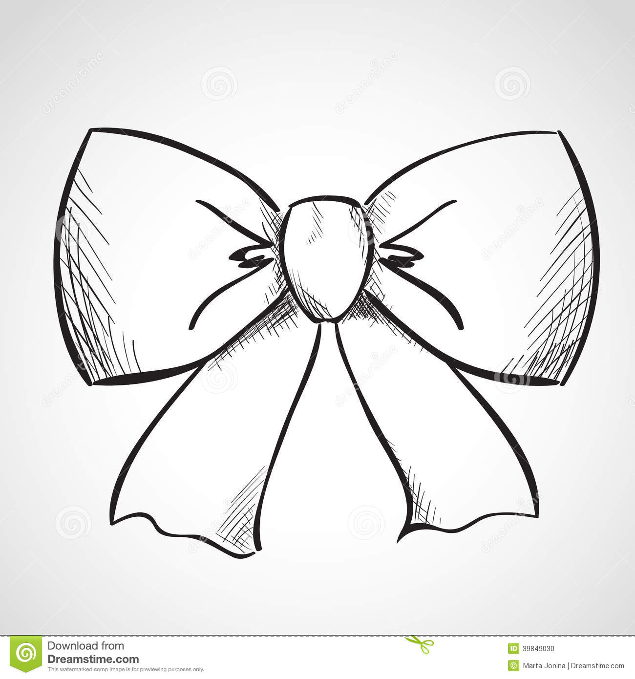 sketch bow stock illustration image 39849030 pregnant clipart cheering pregnancy clipart