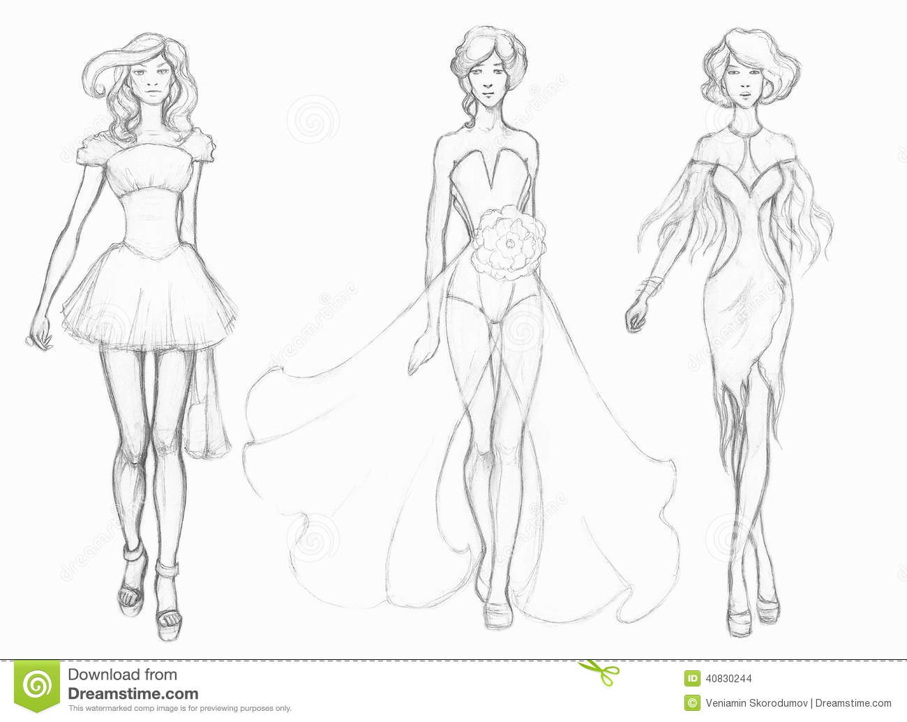 Fashion Design Sketches For Kids