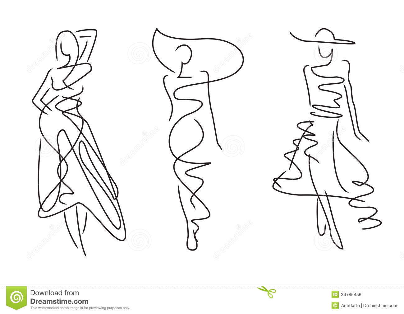 It's just an image of Smart Fashion Poses Drawing