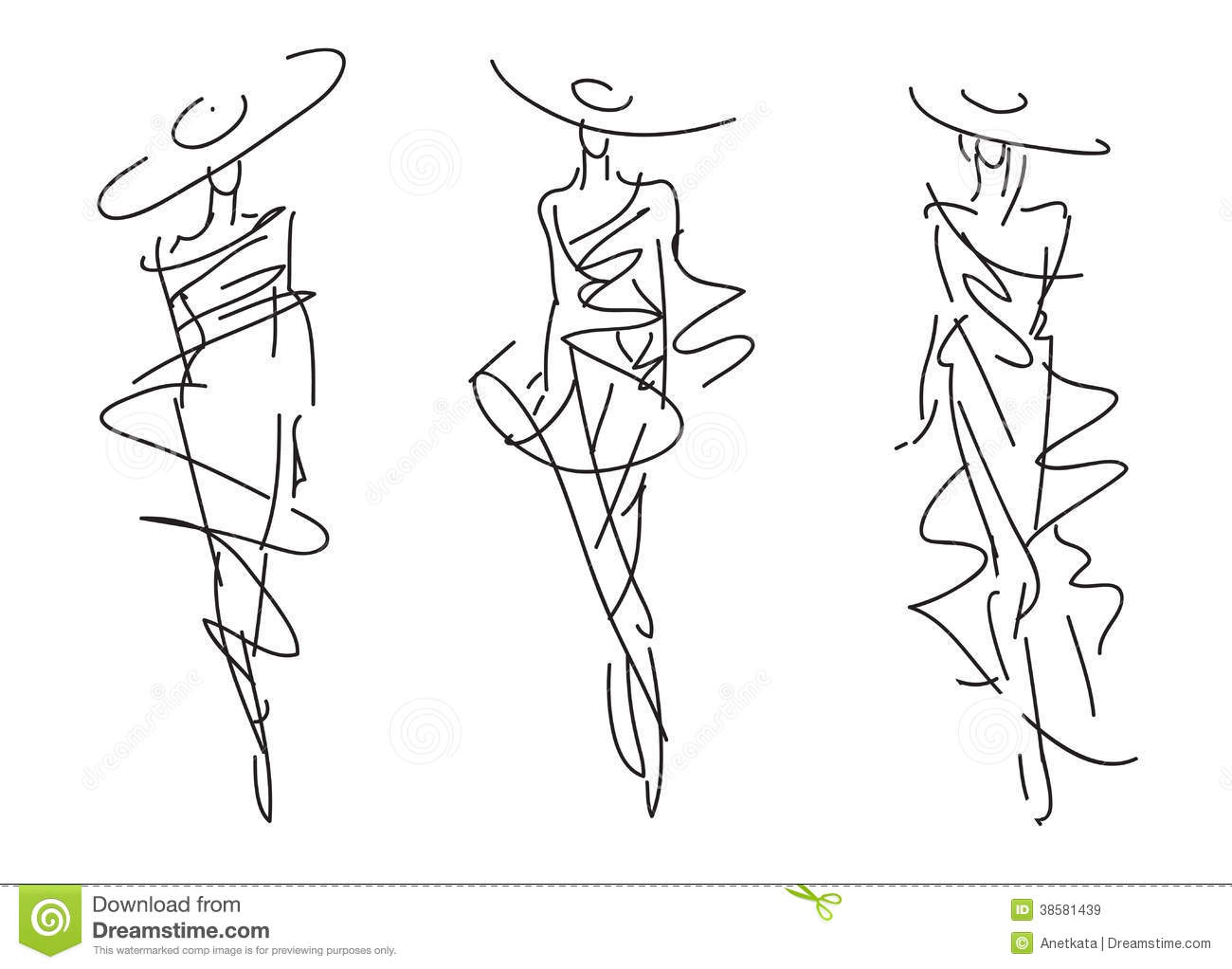 This is a photo of Dynamite Fashion Poses Drawing