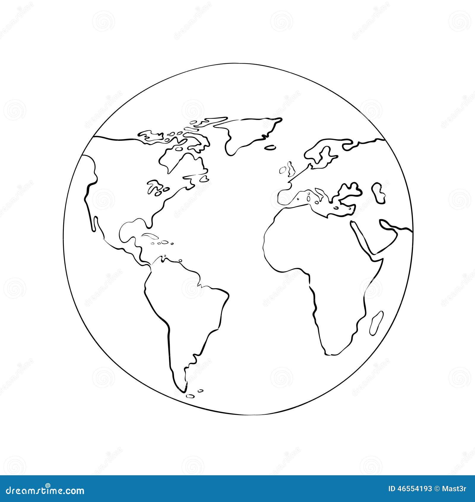 World map outline black and white vatozozdevelopment world publicscrutiny Gallery