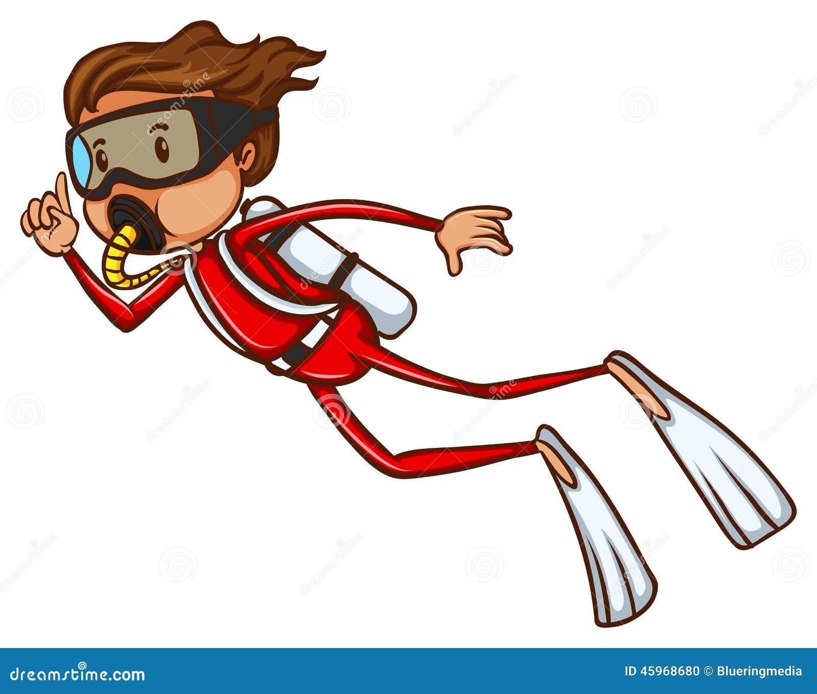 a sketch of a man scuba diving stock vector image 45968680 scuba diving clip art hands scuba diving clipart free
