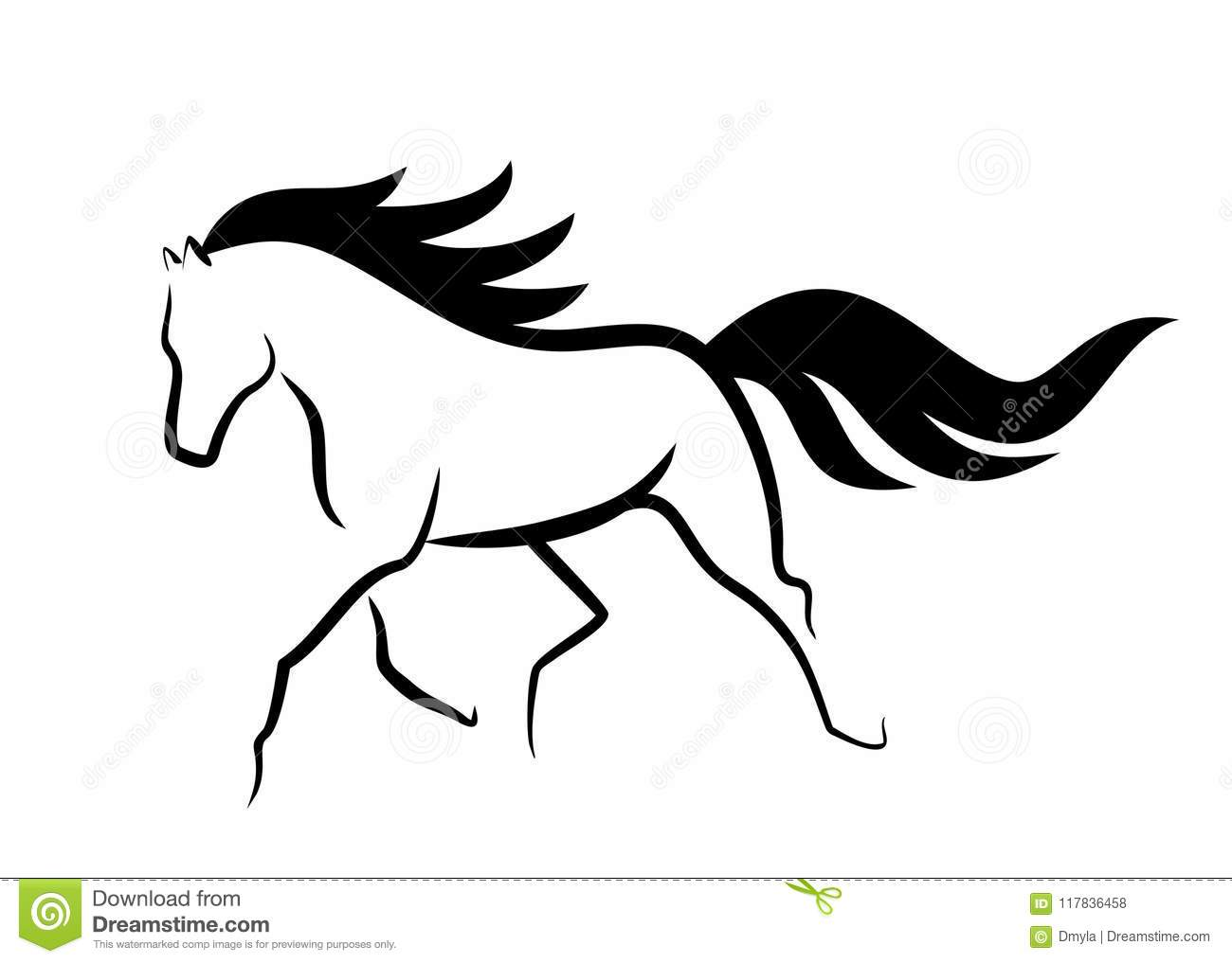 Sketch Horse Stock Illustrations 17 719 Sketch Horse Stock Illustrations Vectors Clipart Dreamstime