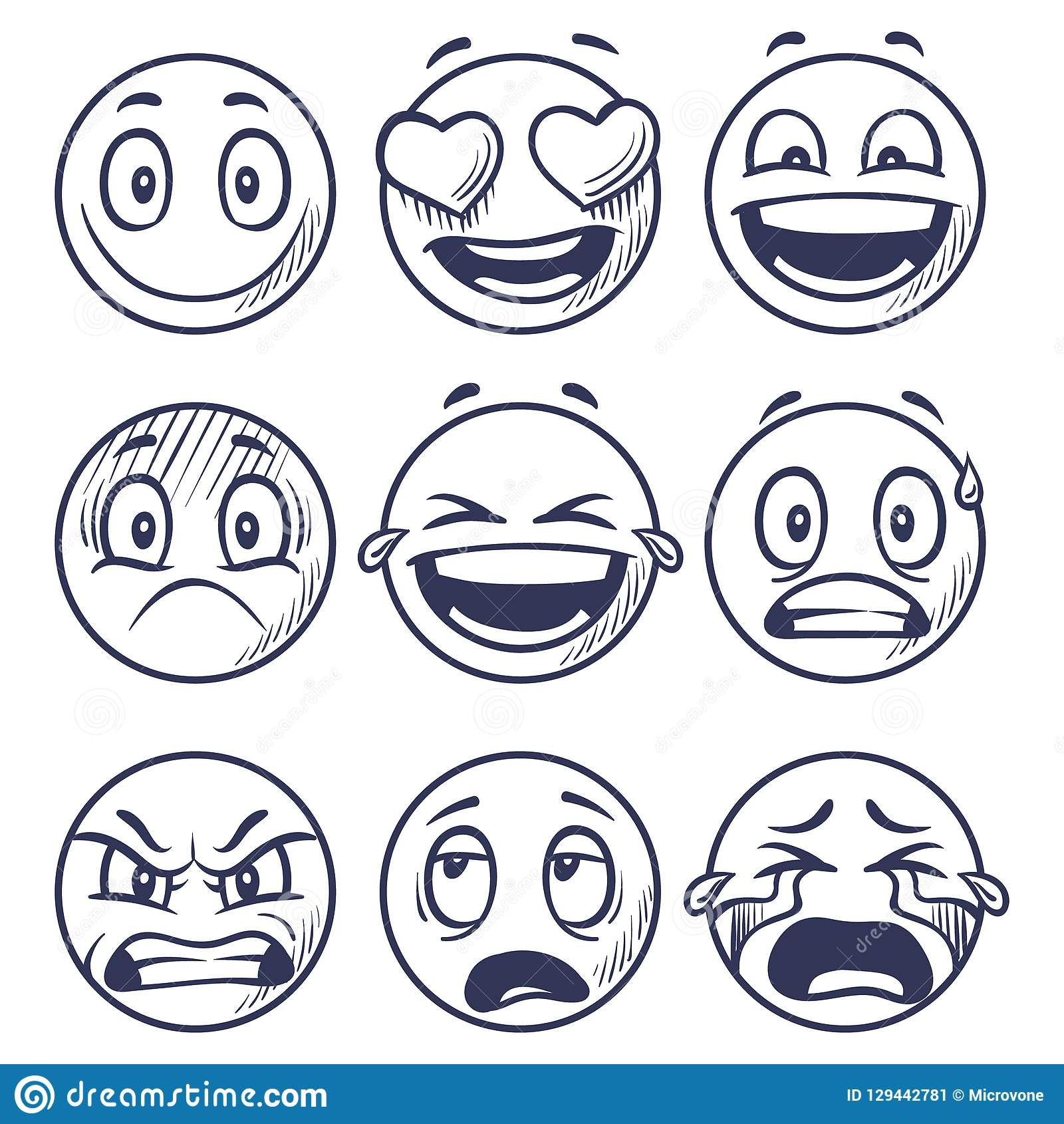 Doodle Smiley Stock Illustrations – 3,938 Doodle Smiley ...