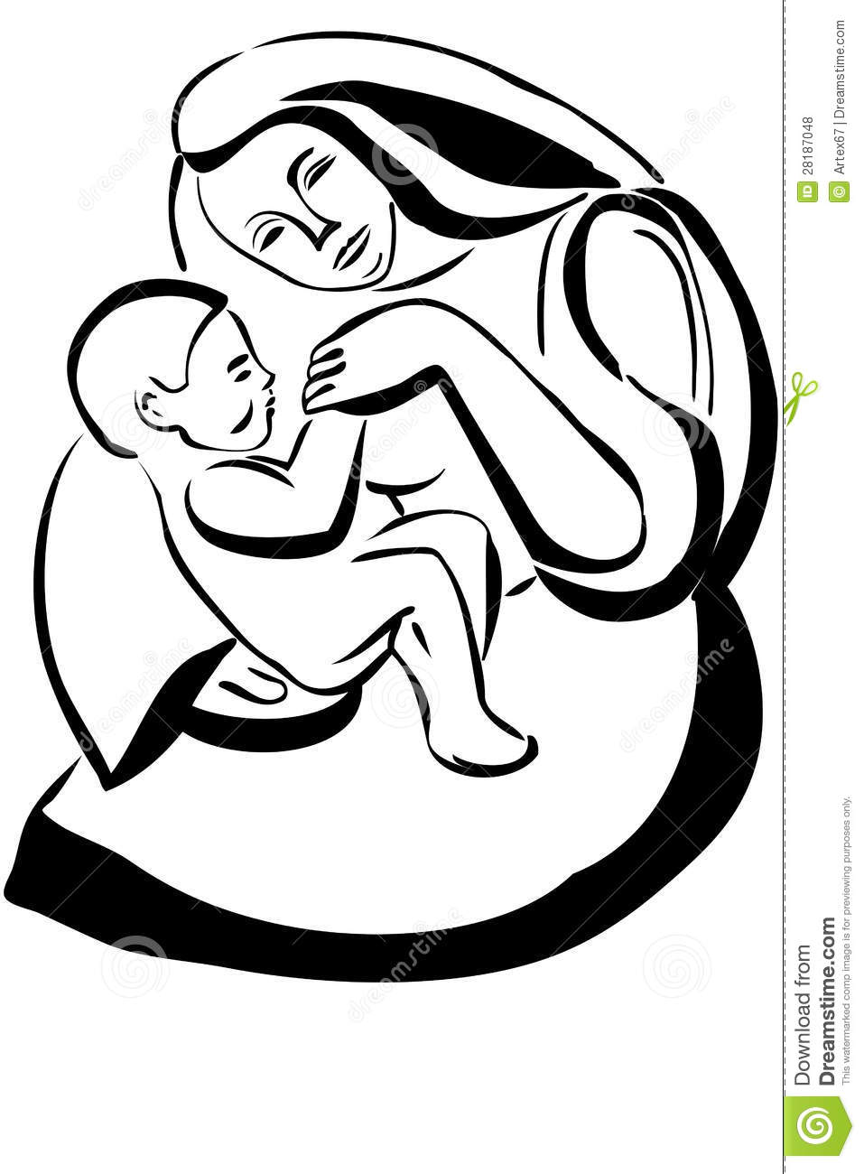 Sketch woman mother holding baby stock illustrations 405 sketch woman mother holding baby stock illustrations vectors clipart dreamstime