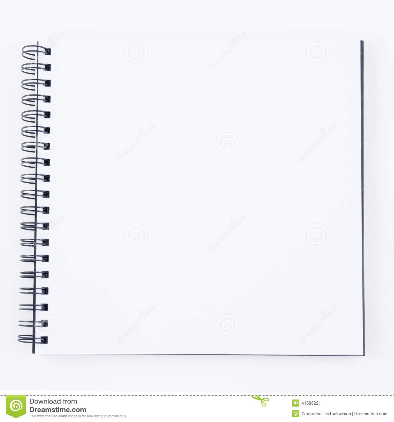 Sketchbook Stock Photo - Image: 41686221