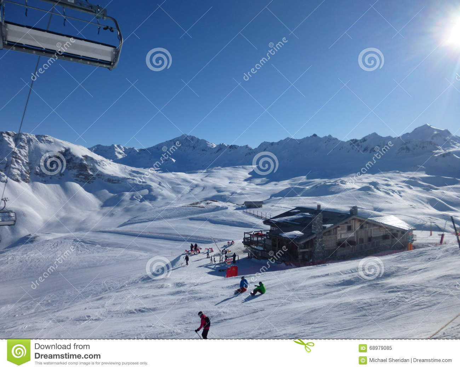 Ski Bar en el Sun