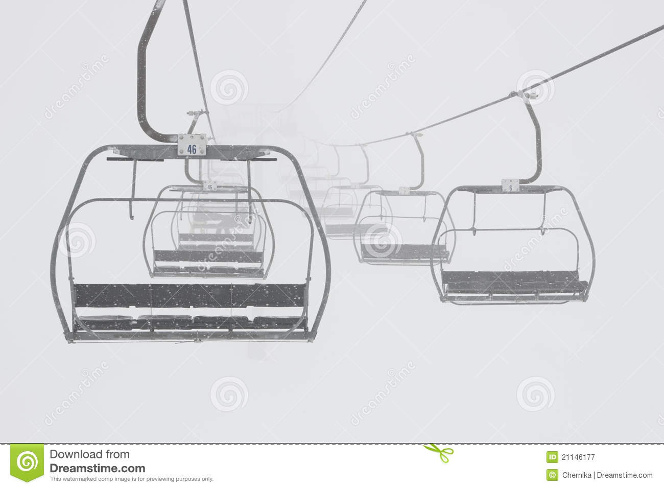 Chair Lift Design horizon a stair lift Ski Chairlift Royalty Free Stock Photography