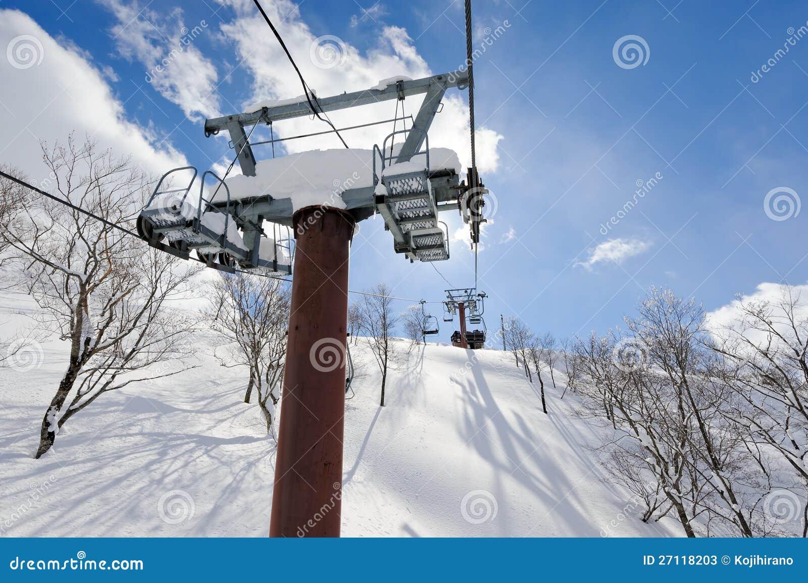Ski Chairlift Stock Photos Image 27118203