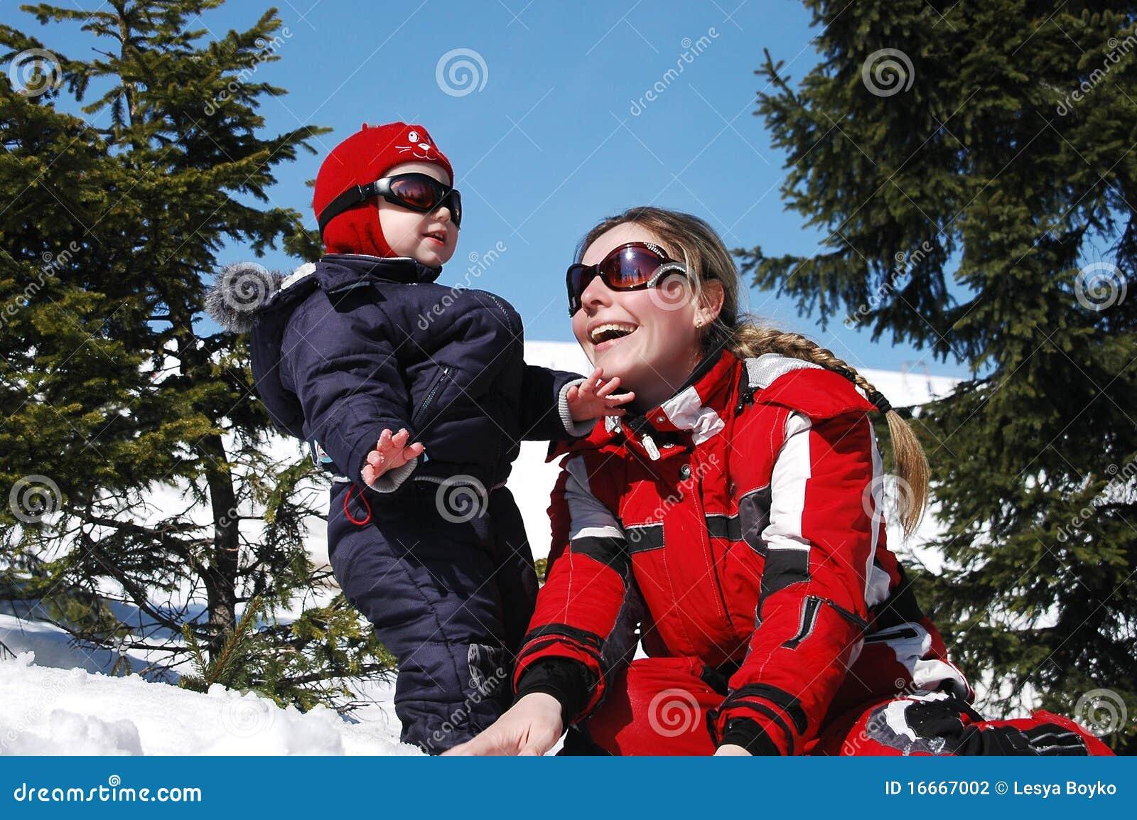 Ski de famille