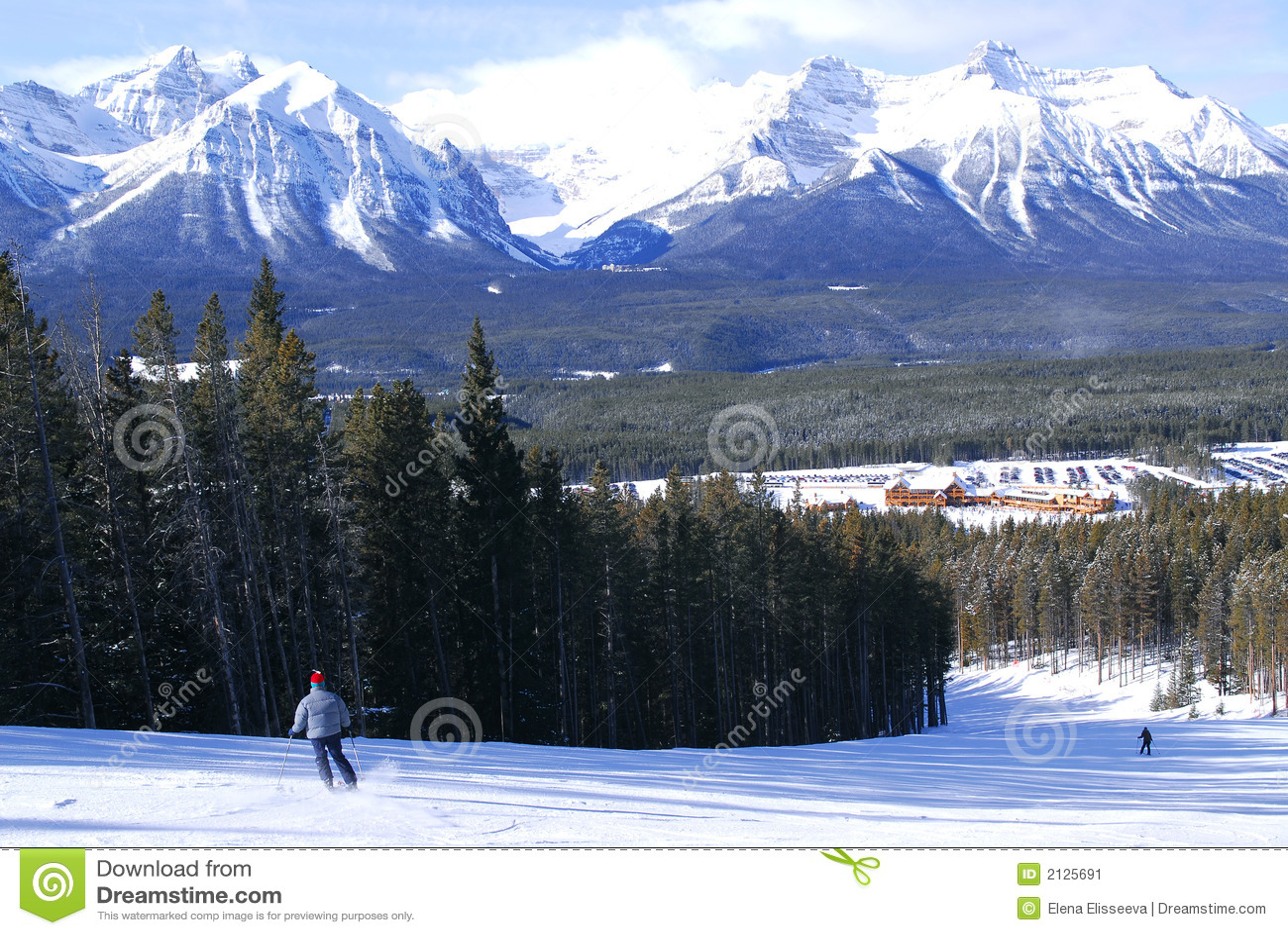 Ski en montagnes