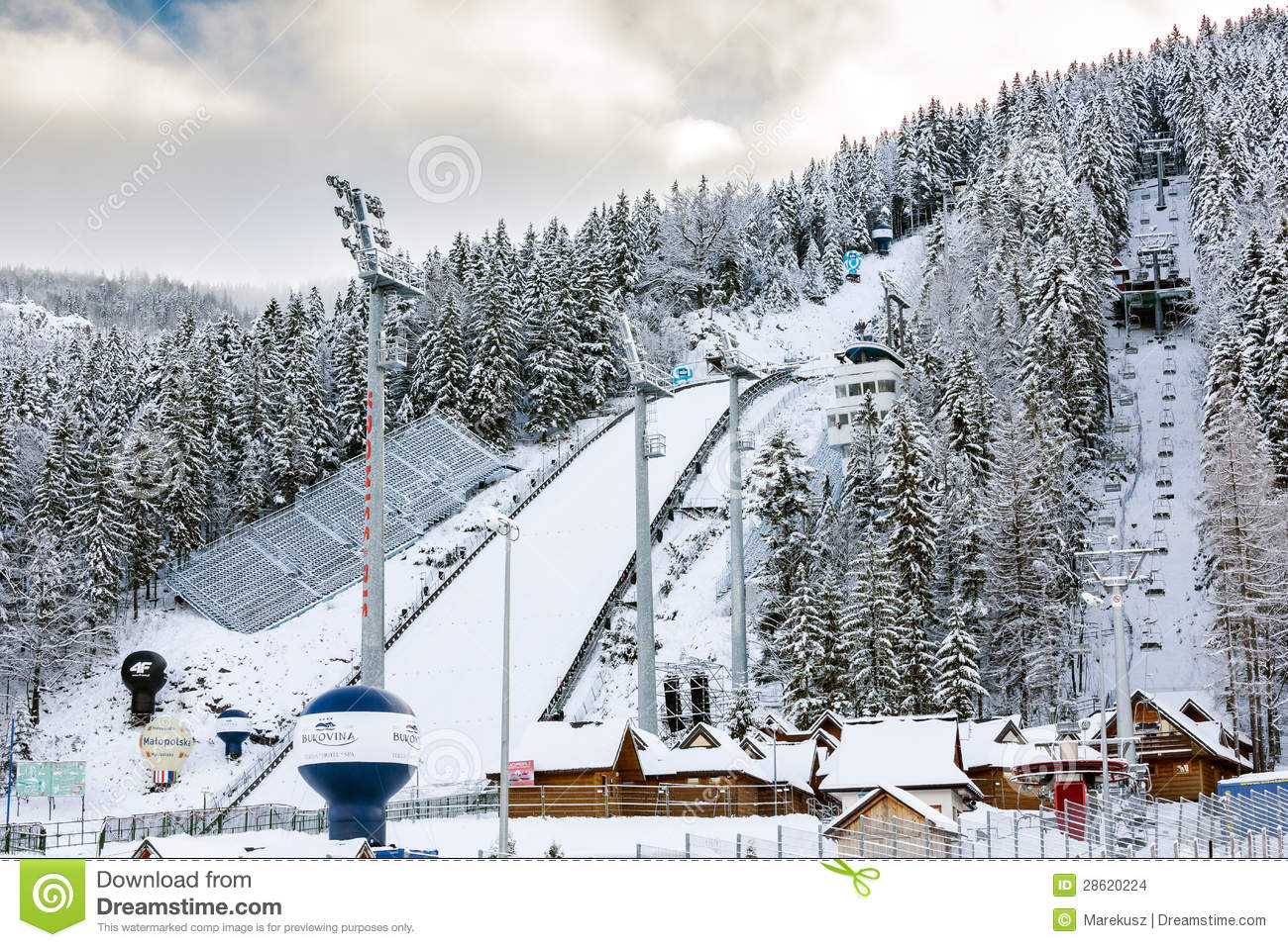 Ski Jump In Zakopane, Poland Editorial Stock Image - Image: 28620224
