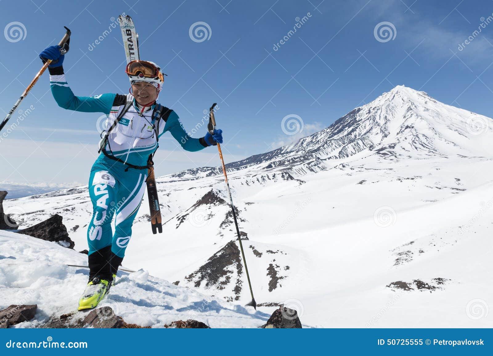 Ski Mountaineering Championships: Ski Mountaineer Climb To ...
