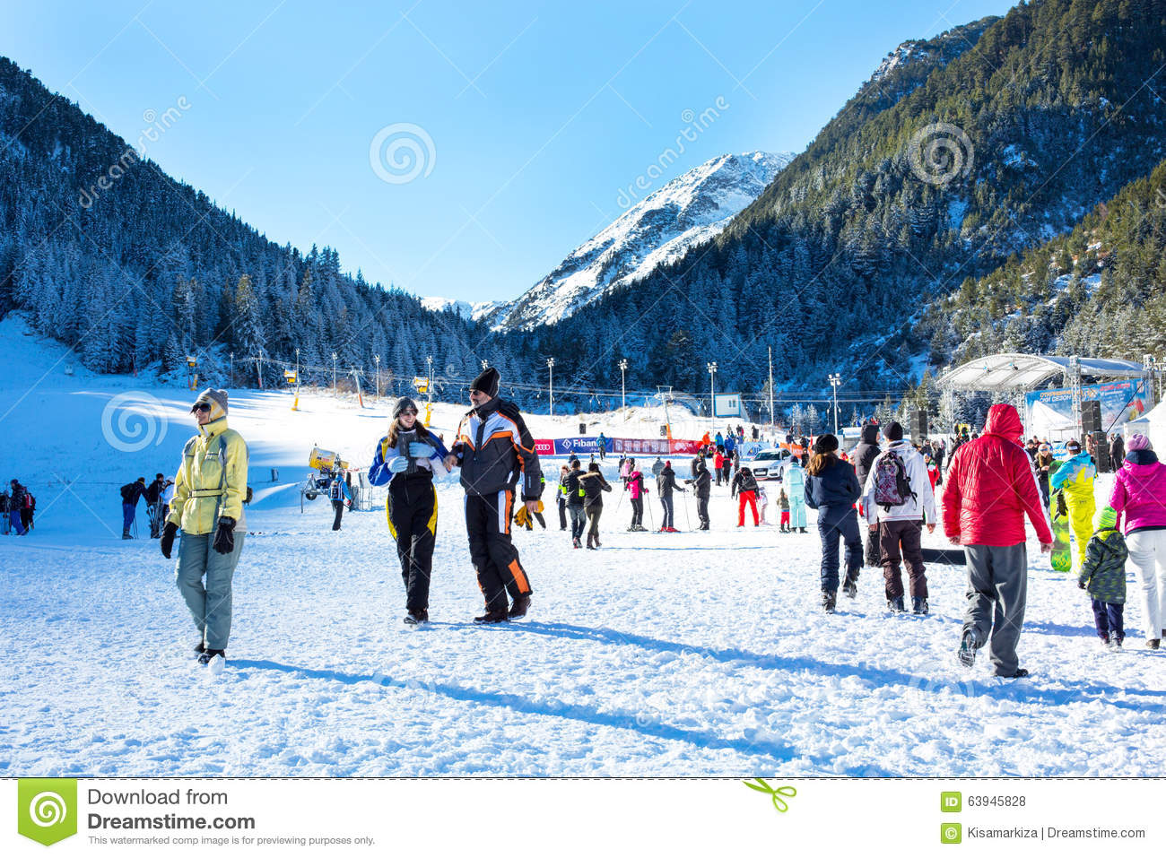Editorial Stock Photo Ski Resort Bansko Bulgaria People Mountains December Pistes Mountain Pine Trees Slope Walking Skiing Image63945828 on cabin plans