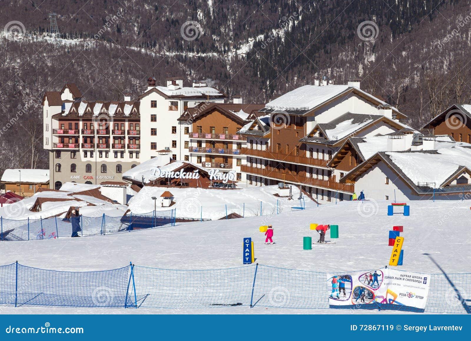The best ski resorts of Krasnodar region 54