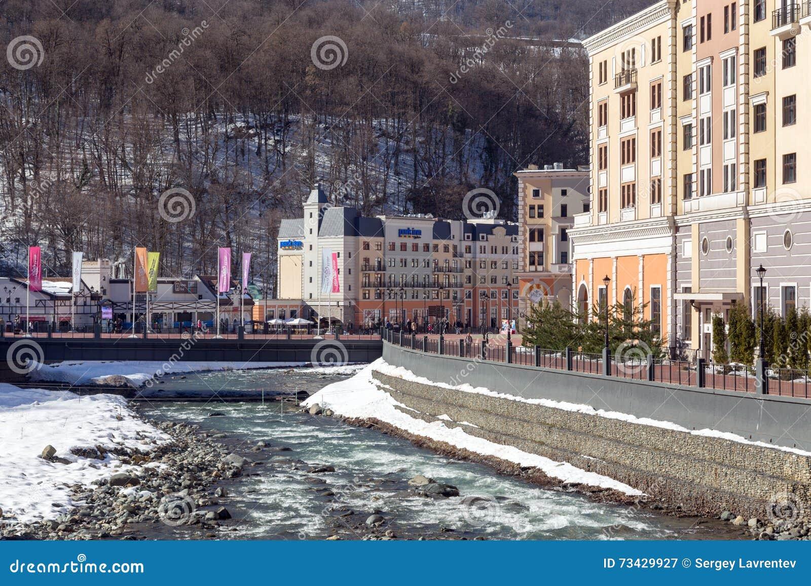 The best ski resorts of Krasnodar region 91