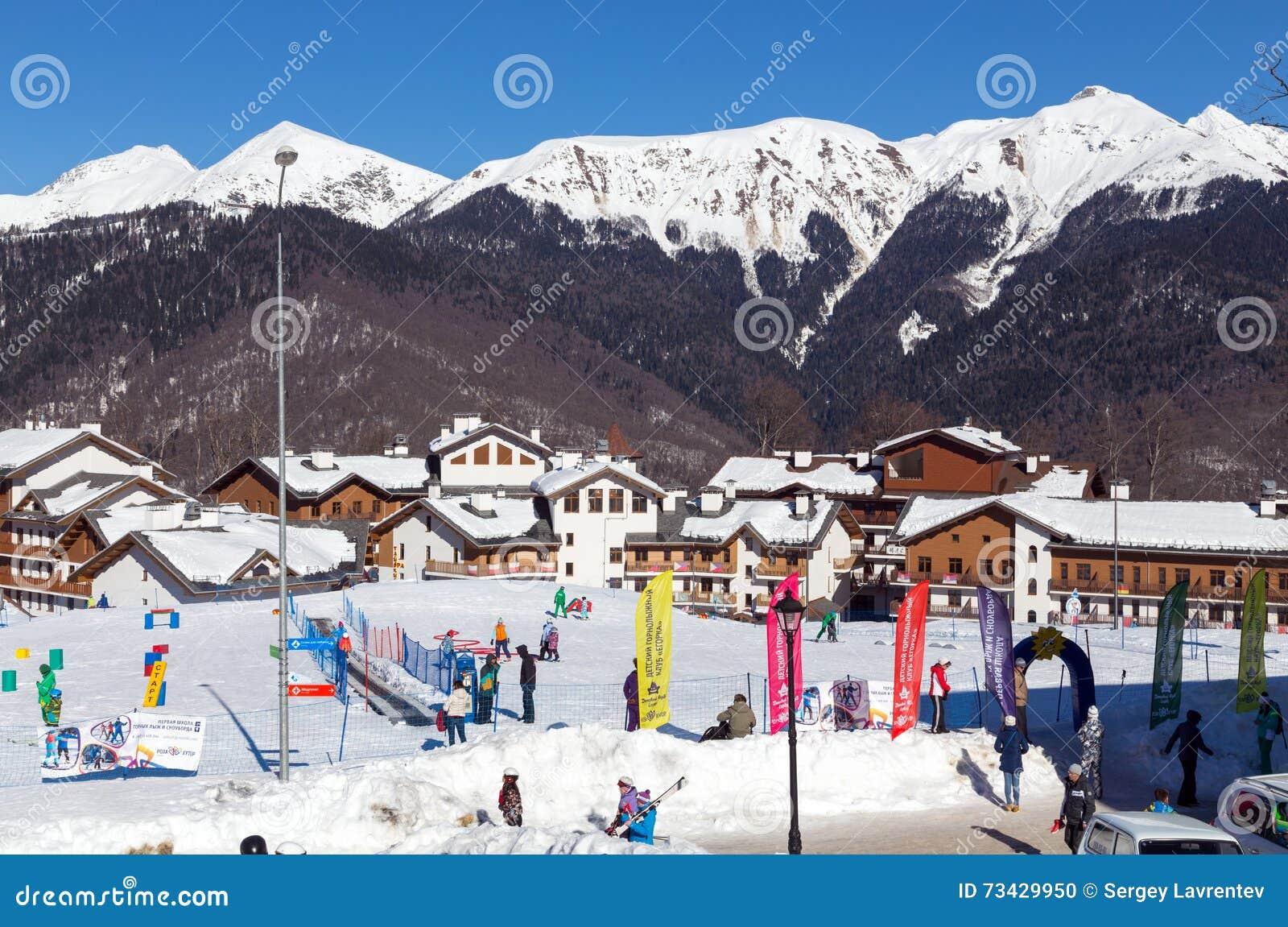 The best ski resorts of Krasnodar region 79