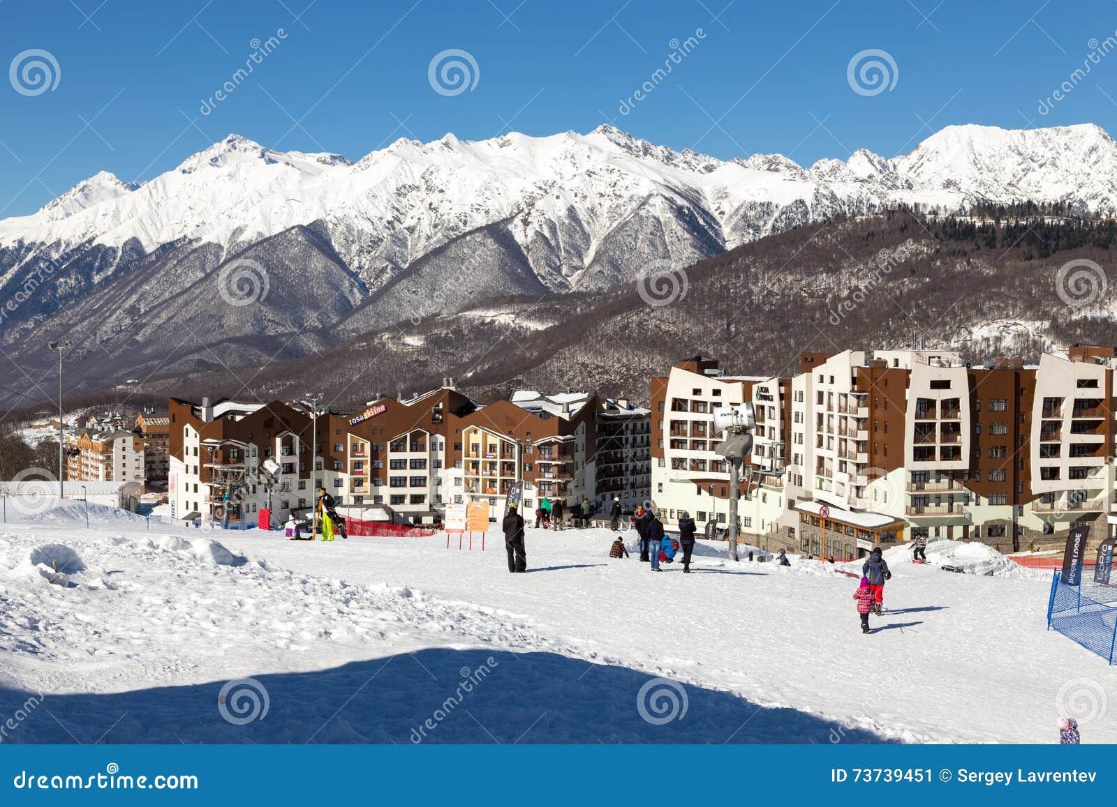 The best ski resorts of Krasnodar region 10