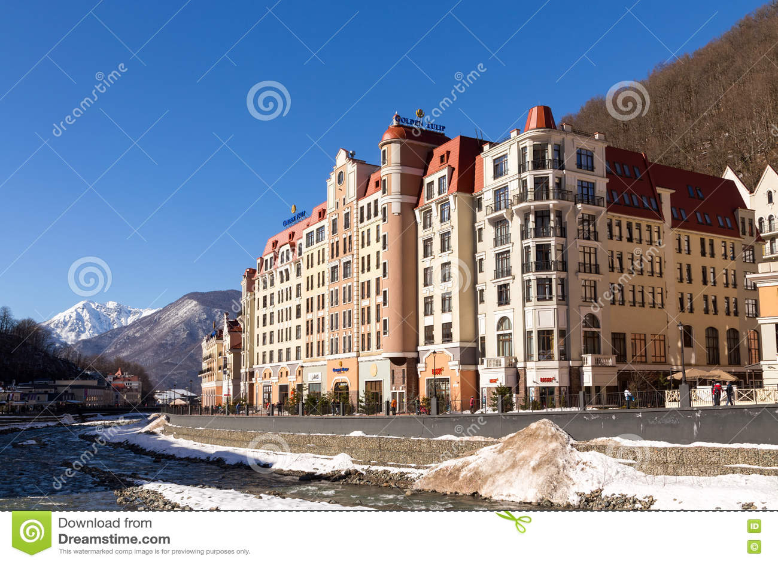 The best ski resorts of Krasnodar region 14