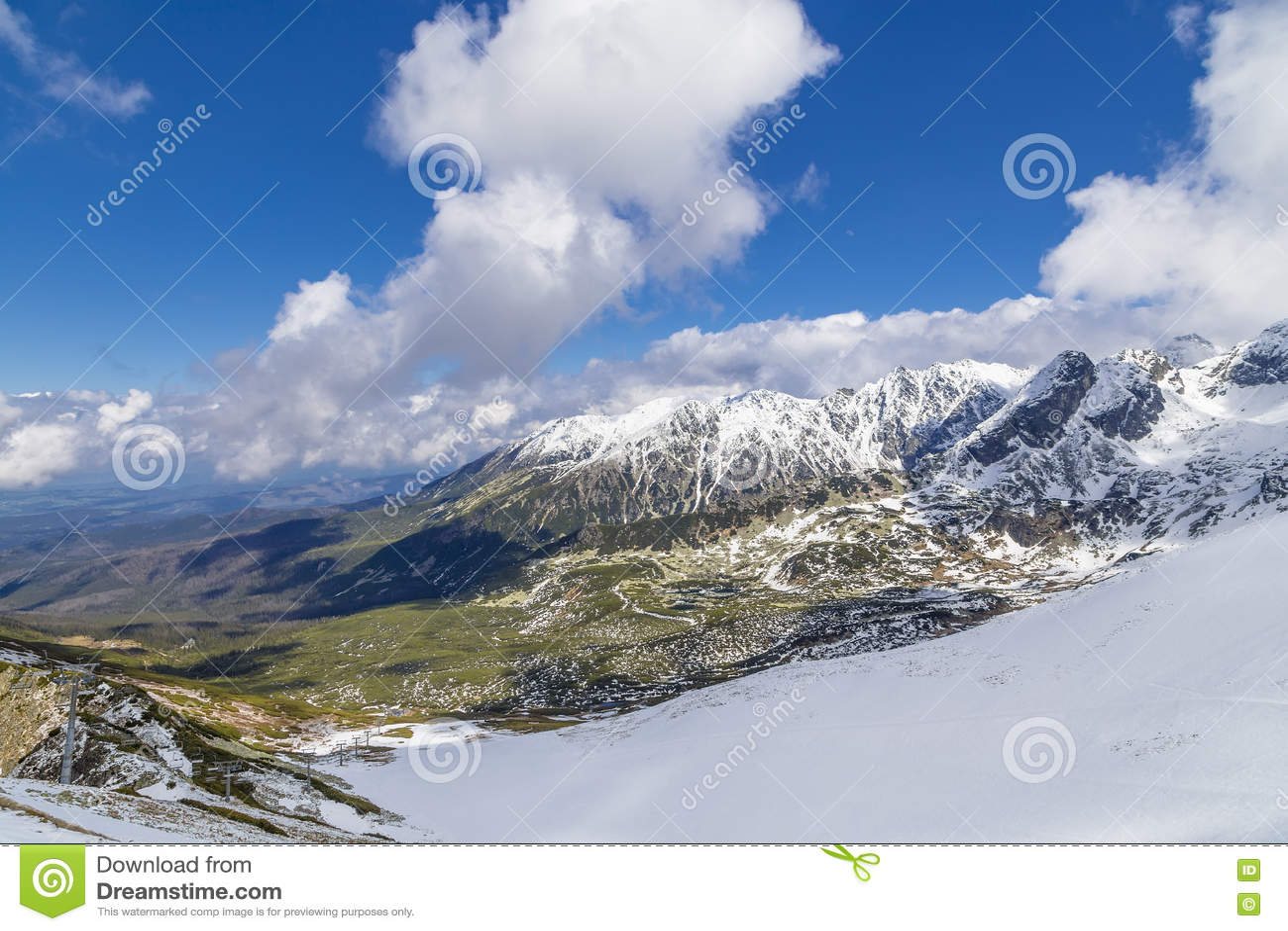 Ski Resort In Zakopane Stock Photo Image Of Resort Landmark 78637534