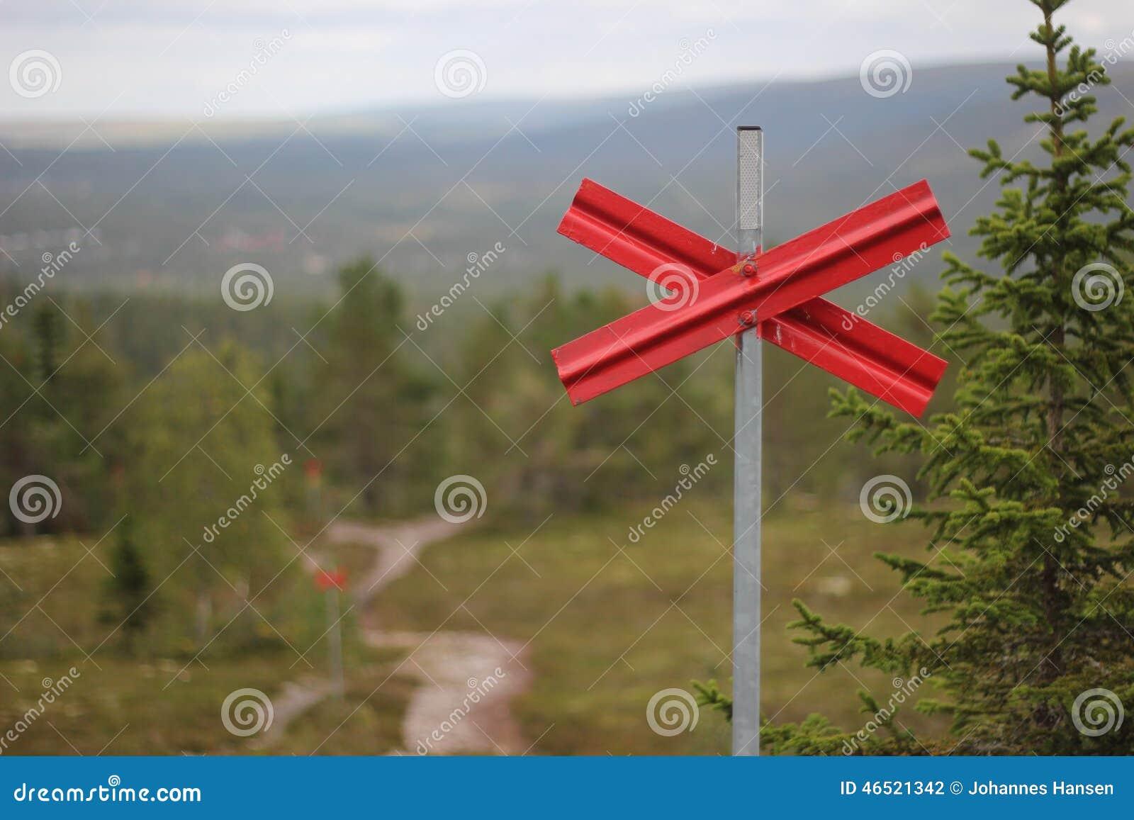 Ski Trail Marking