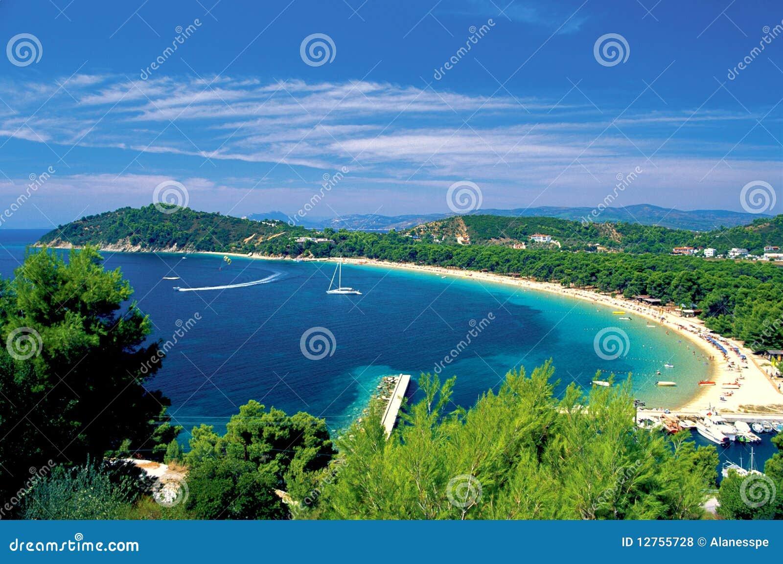 Skiathos νησιών της Ελλάδας sporades