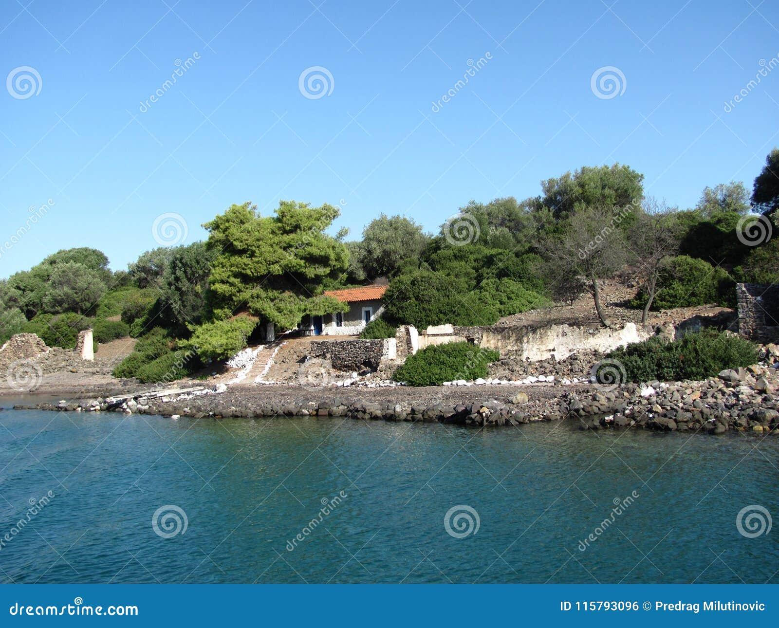 Island in the Aegean Sea