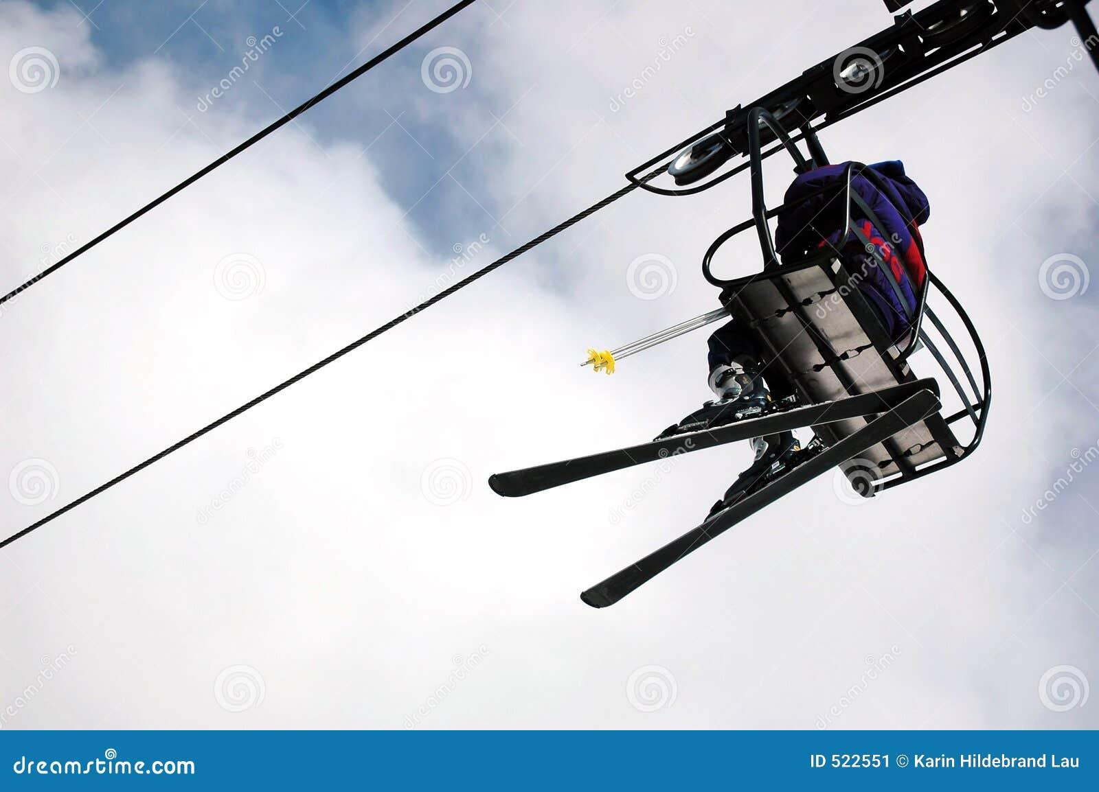 Skier för stolselevator