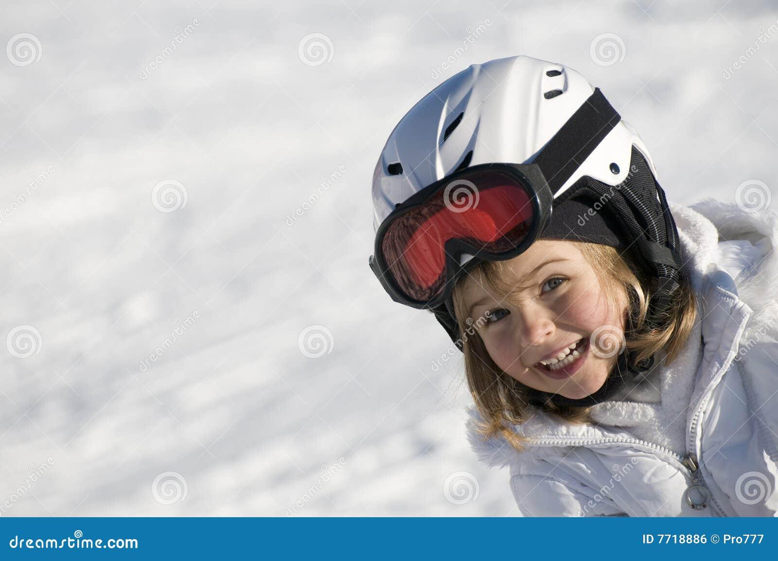 Skieur mignon