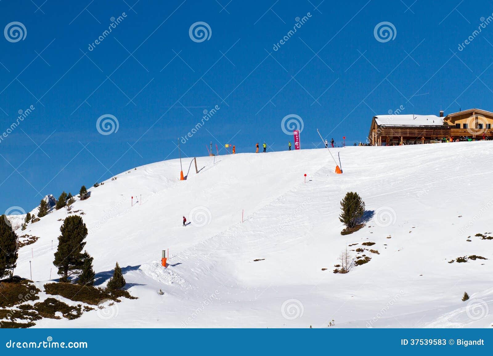Skihelling in Ischgl