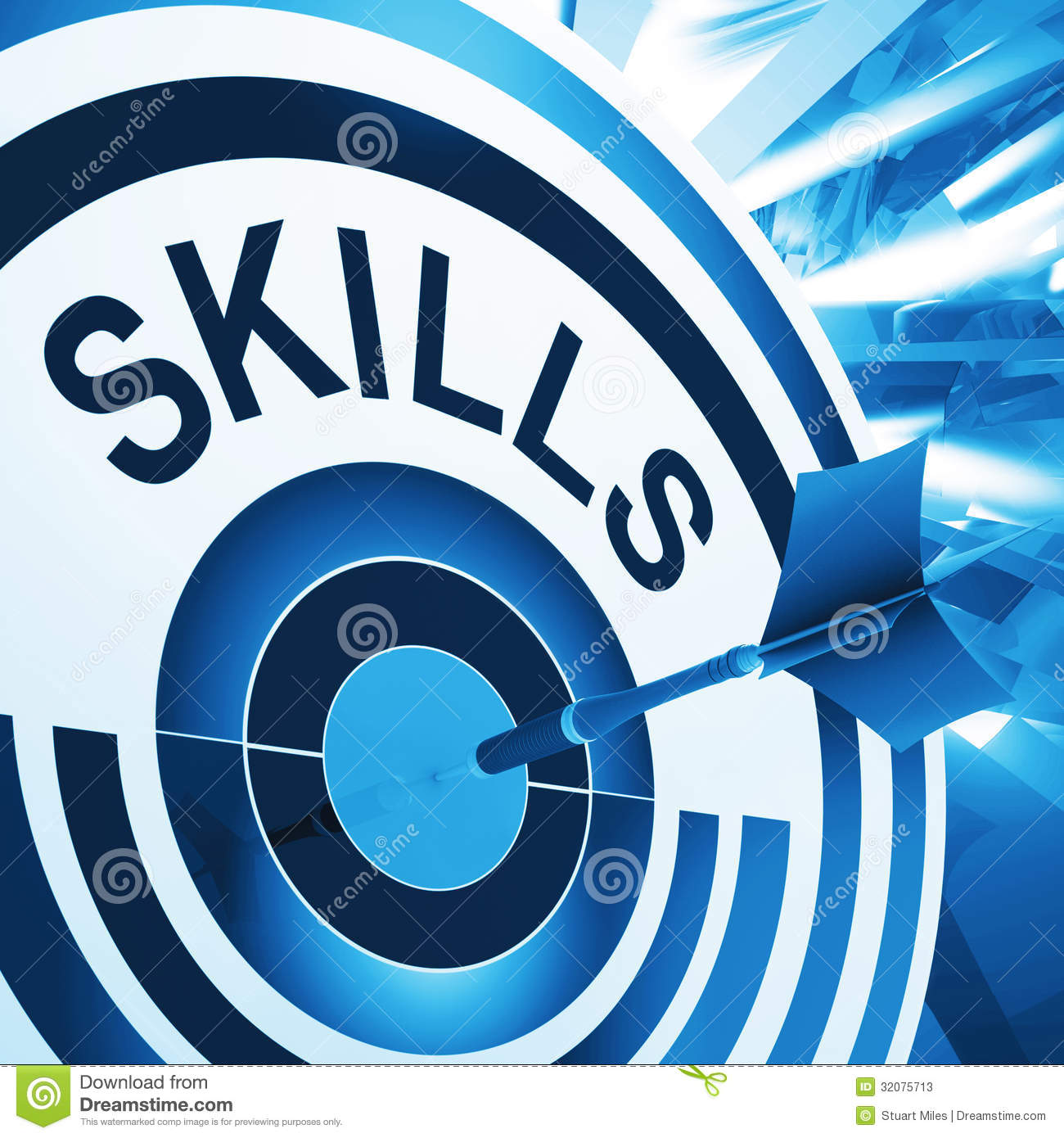 skills target means aptitude competence and abilities stock skills target means aptitude competence and abilities