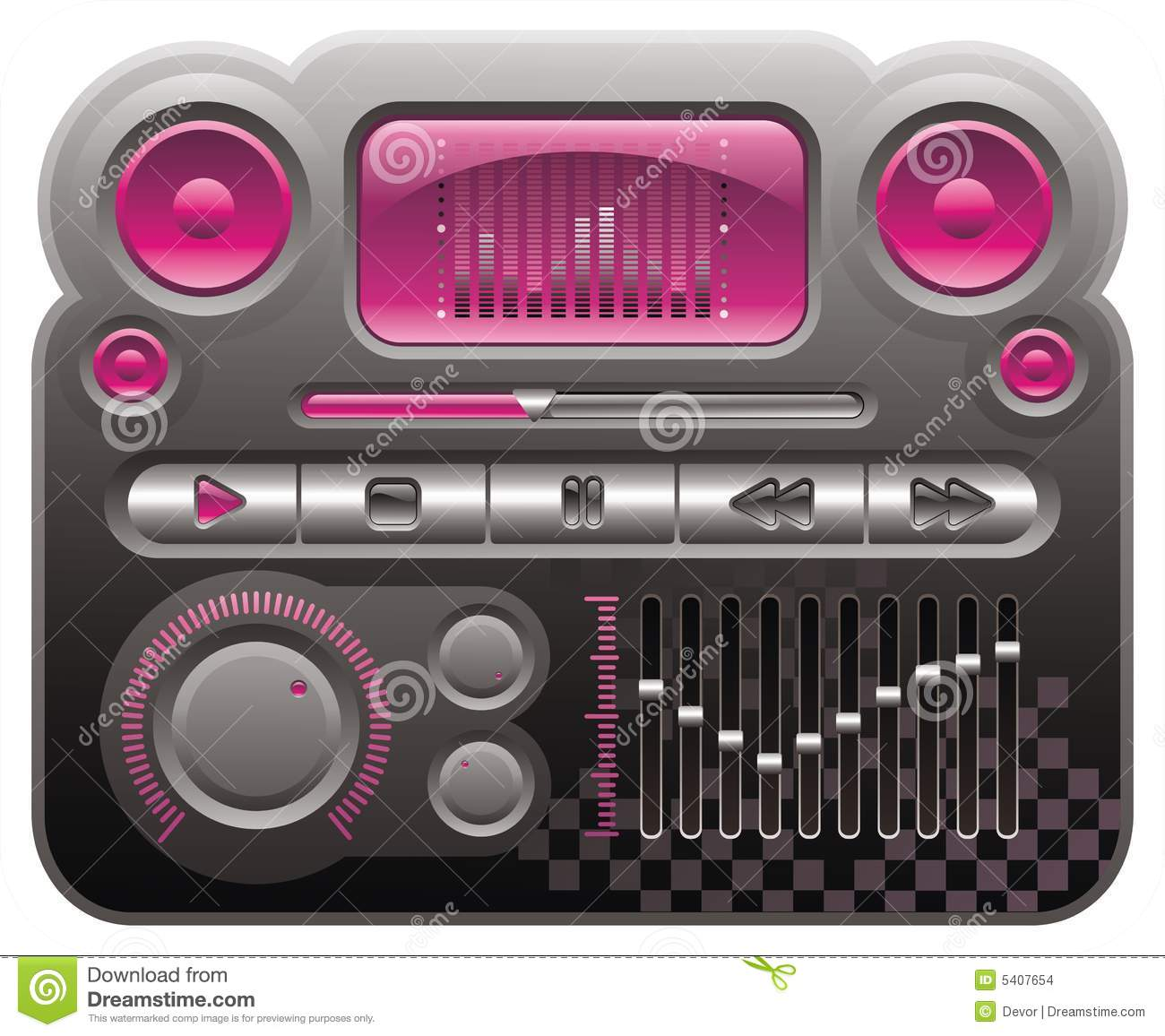 Mp3 player skin free psd free psd in photoshop psd (. Psd ) file.