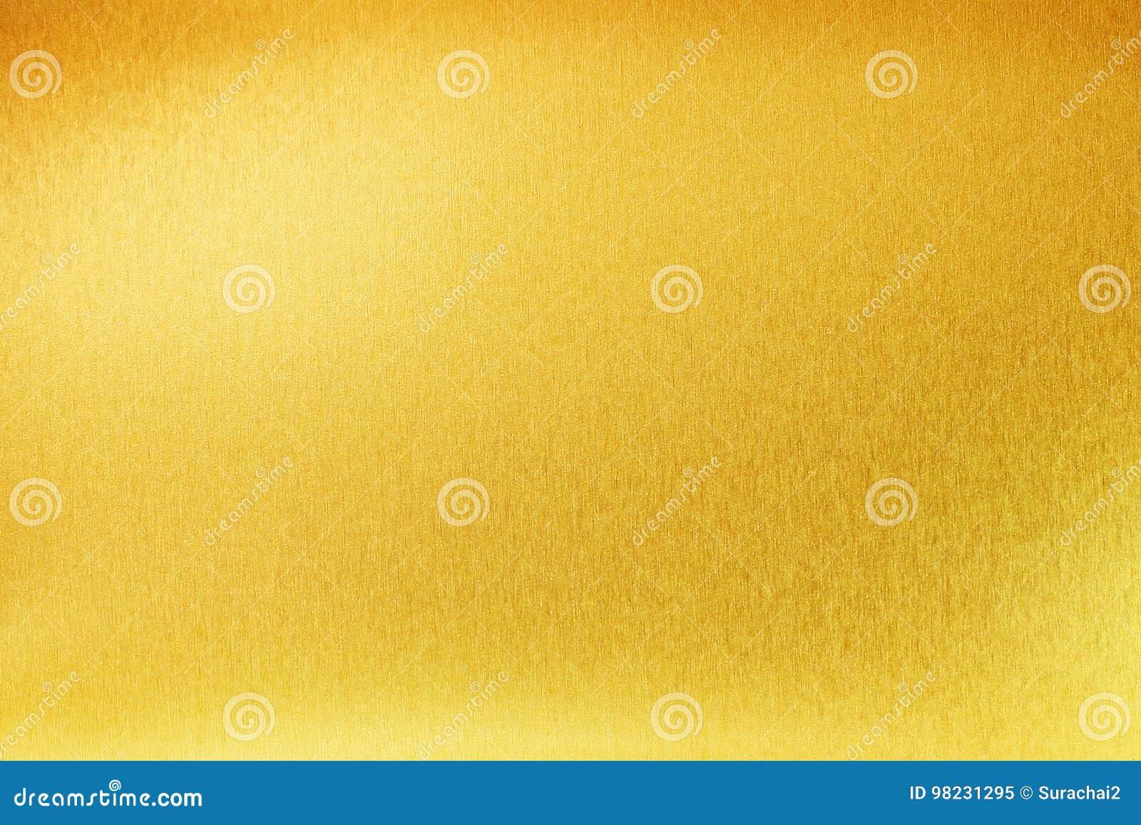 Skinande för abstrakt begreppmetall för gul guld textur