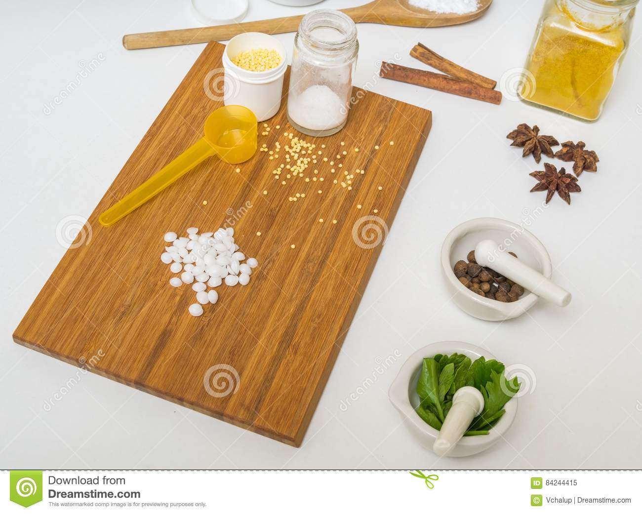Skincare concept. Ingredients for homemade cosmetics and makeup