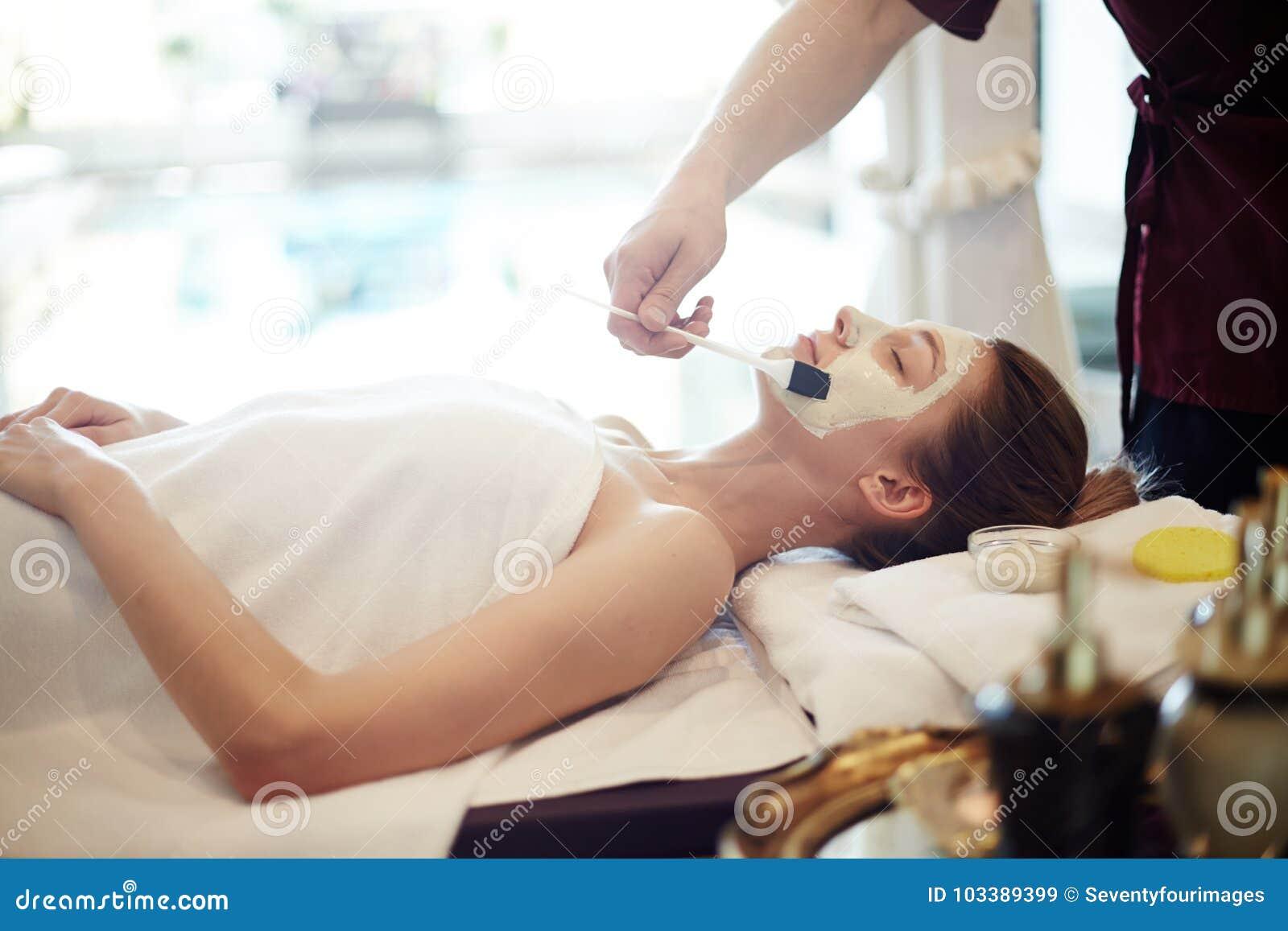 Skincare in Luxury SPA