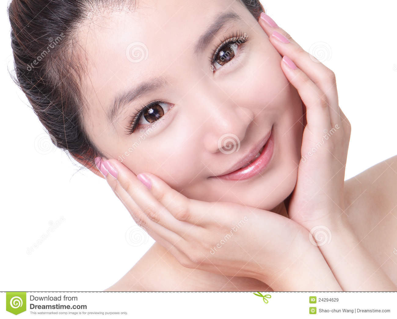 Skincare Woman Smile And <b>Hand Touch</b> Face Royalty Free Stock Images - Image: <b>...</b> - skincare-woman-smile-hand-touch-face-24294629