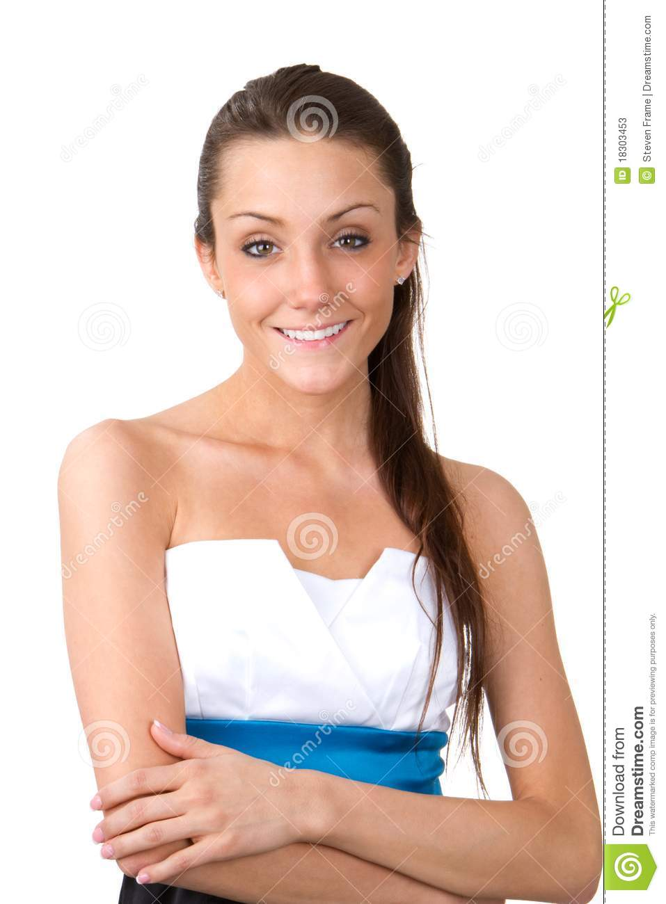 c0eb8fc41b10 Skinny Woman stock image. Image of shoulders
