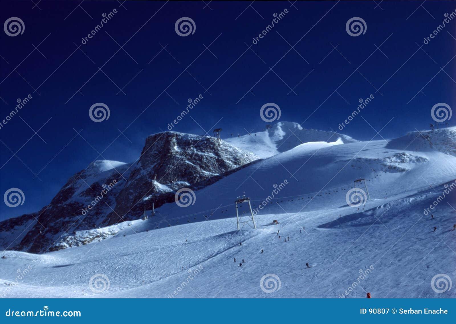 Skisteigungen