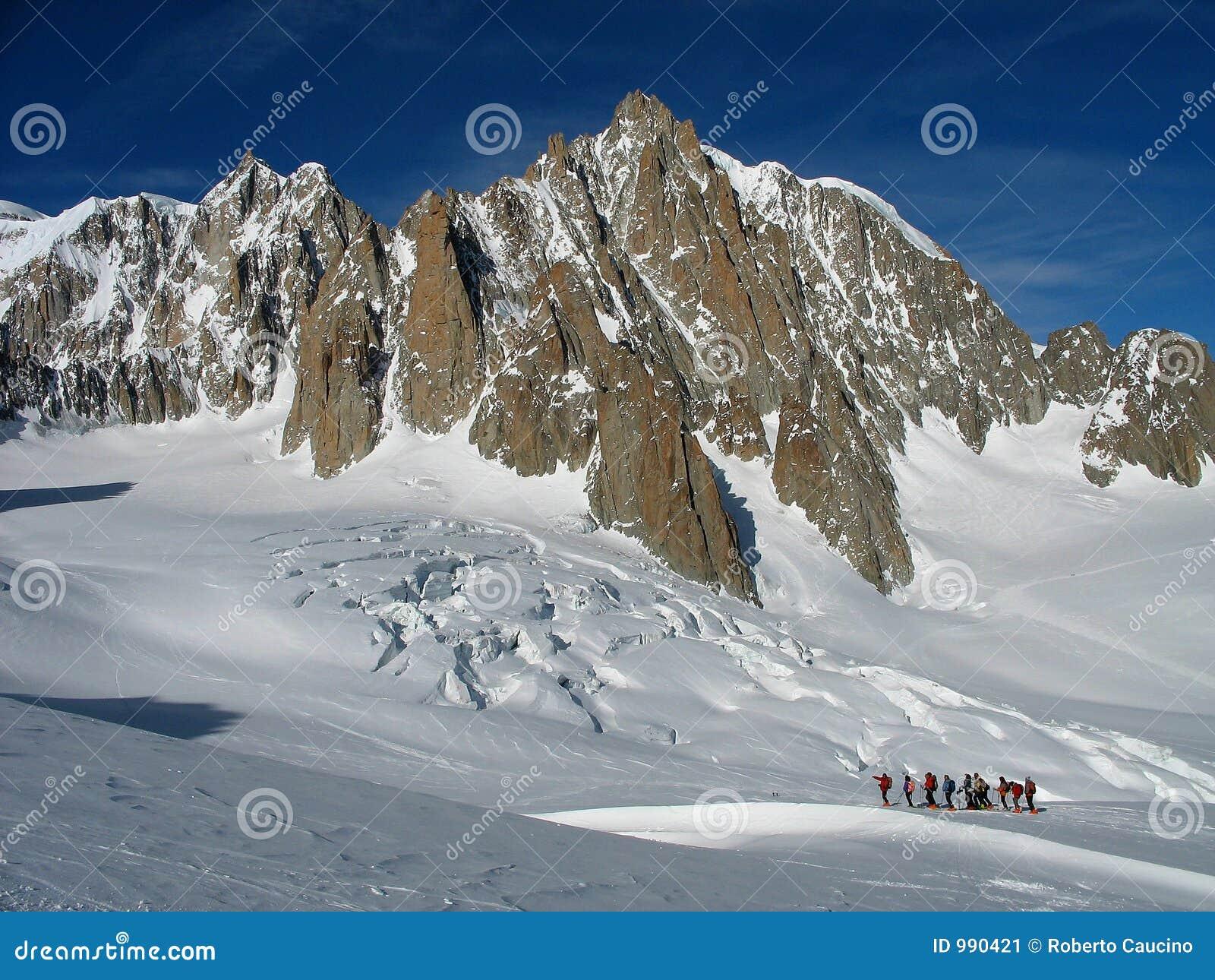Skitouring backcountry