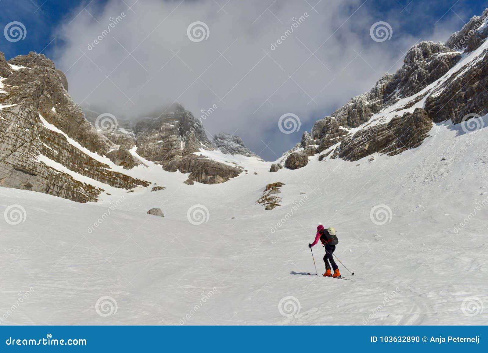 Skitouring w Juliańskich Alps