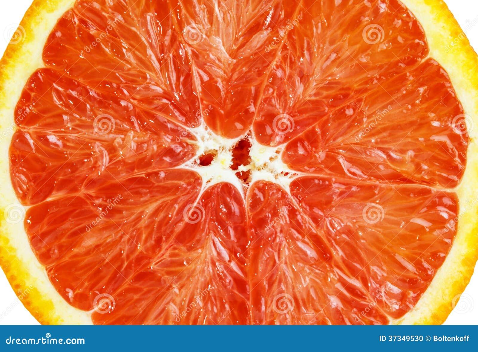 Skiva av den sicilian apelsinen