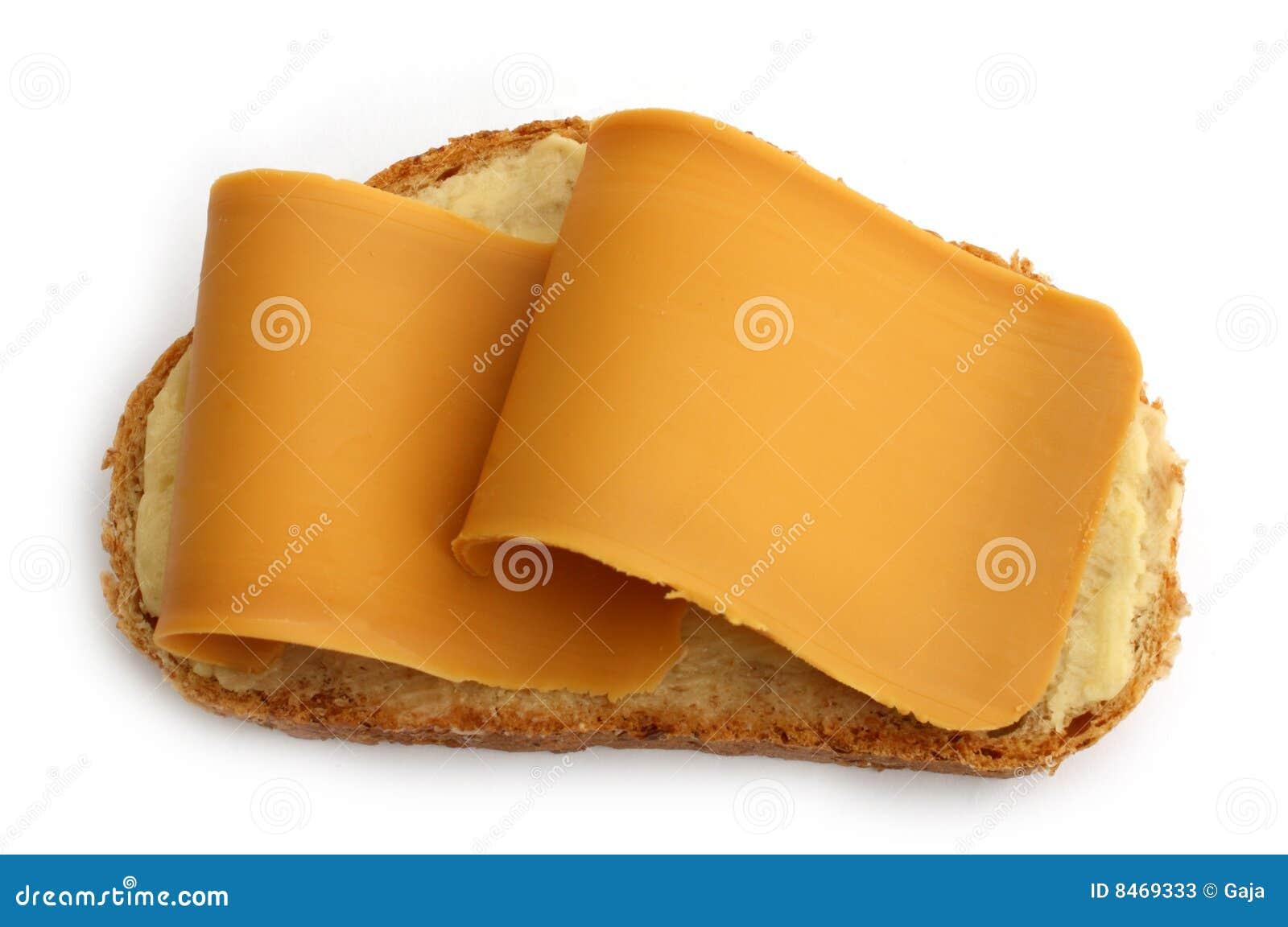Skiva för brun ost för bröd norsk