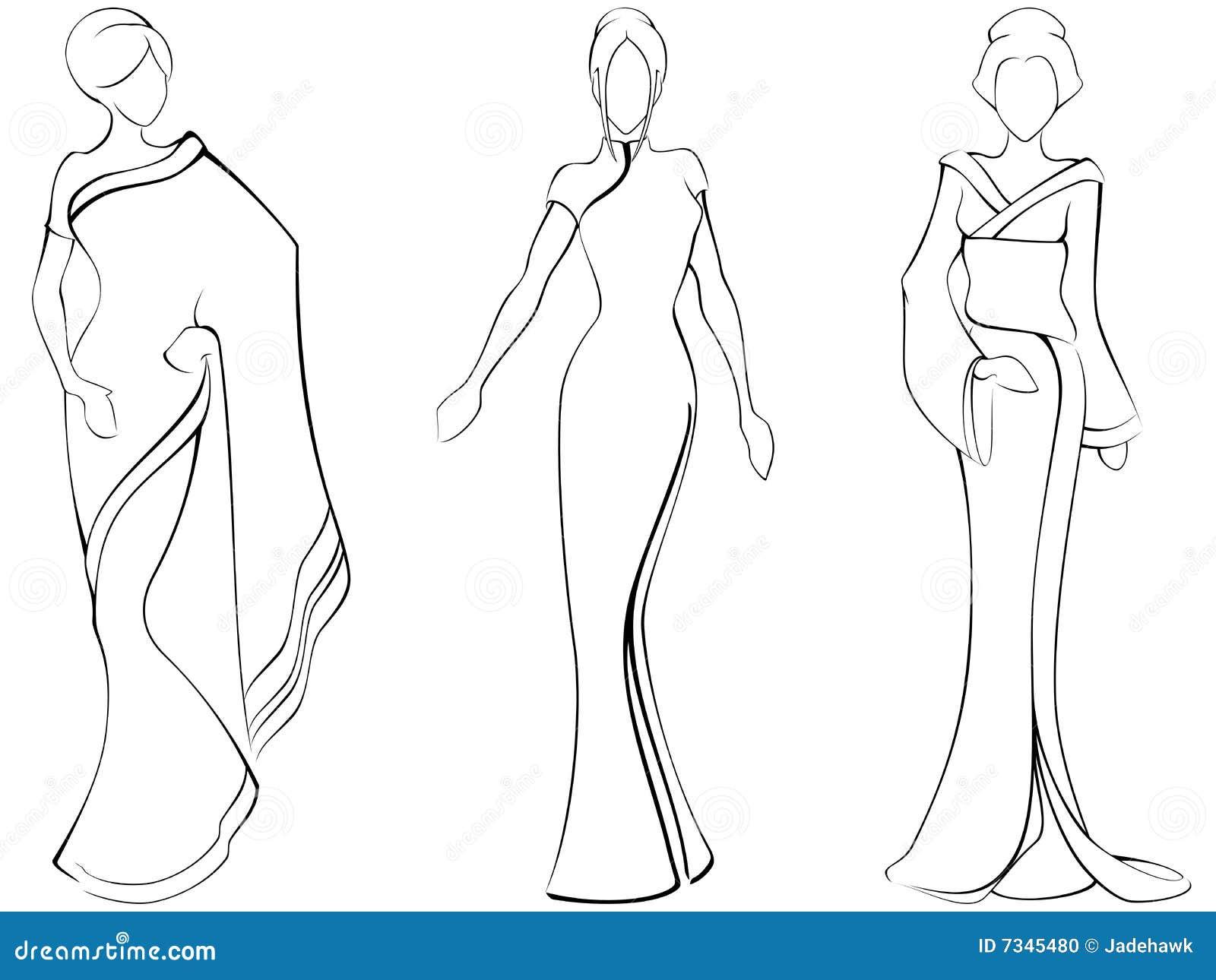 AA001303 likewise Desenho de moda additionally Stockfoto Skizze Der Asiatischen Frauen Image7345480 furthermore Colonial5 besides Manga Female Body Clothing Sketch Templates. on skirt easy fashion sketches