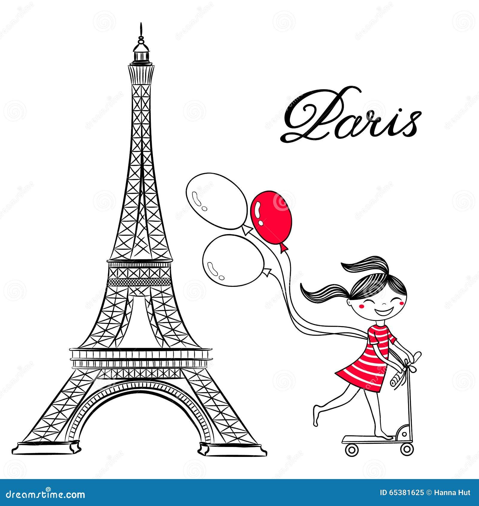 Paris Cafe Coloring Pages