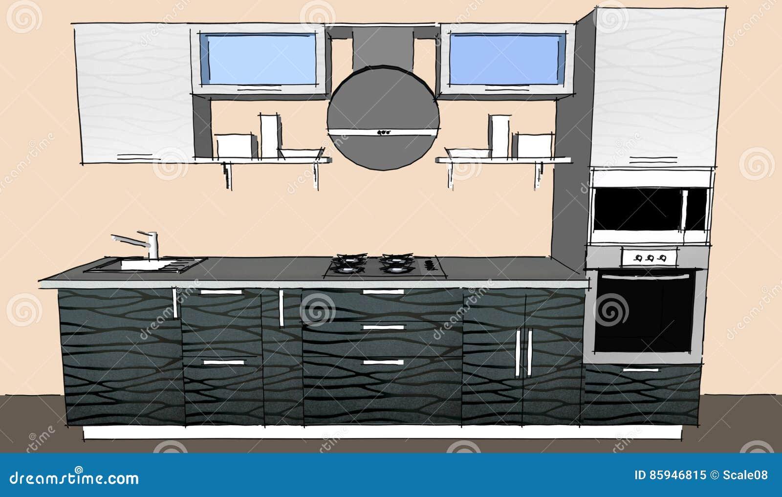 Atemberaubend Küche Farbe Ideen Off White Schränke Bilder - Ideen ...
