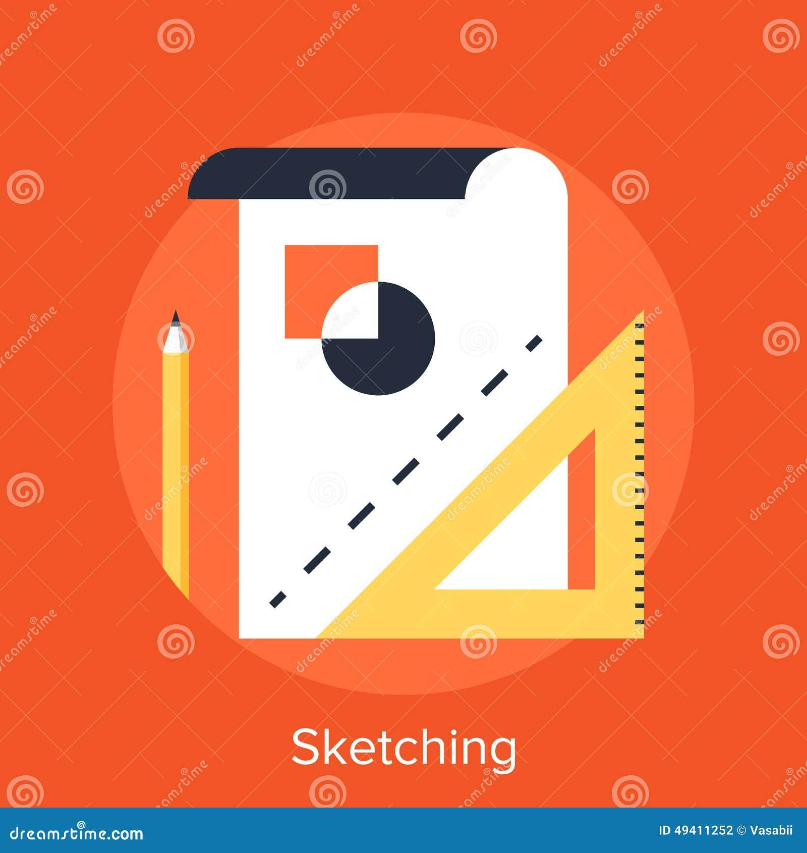 Download Skizzieren vektor abbildung. Illustration von edit, auslegung - 49411252