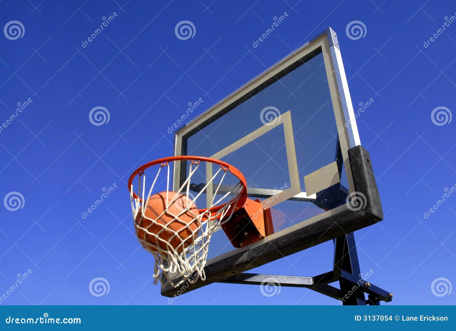 Skjuten basket