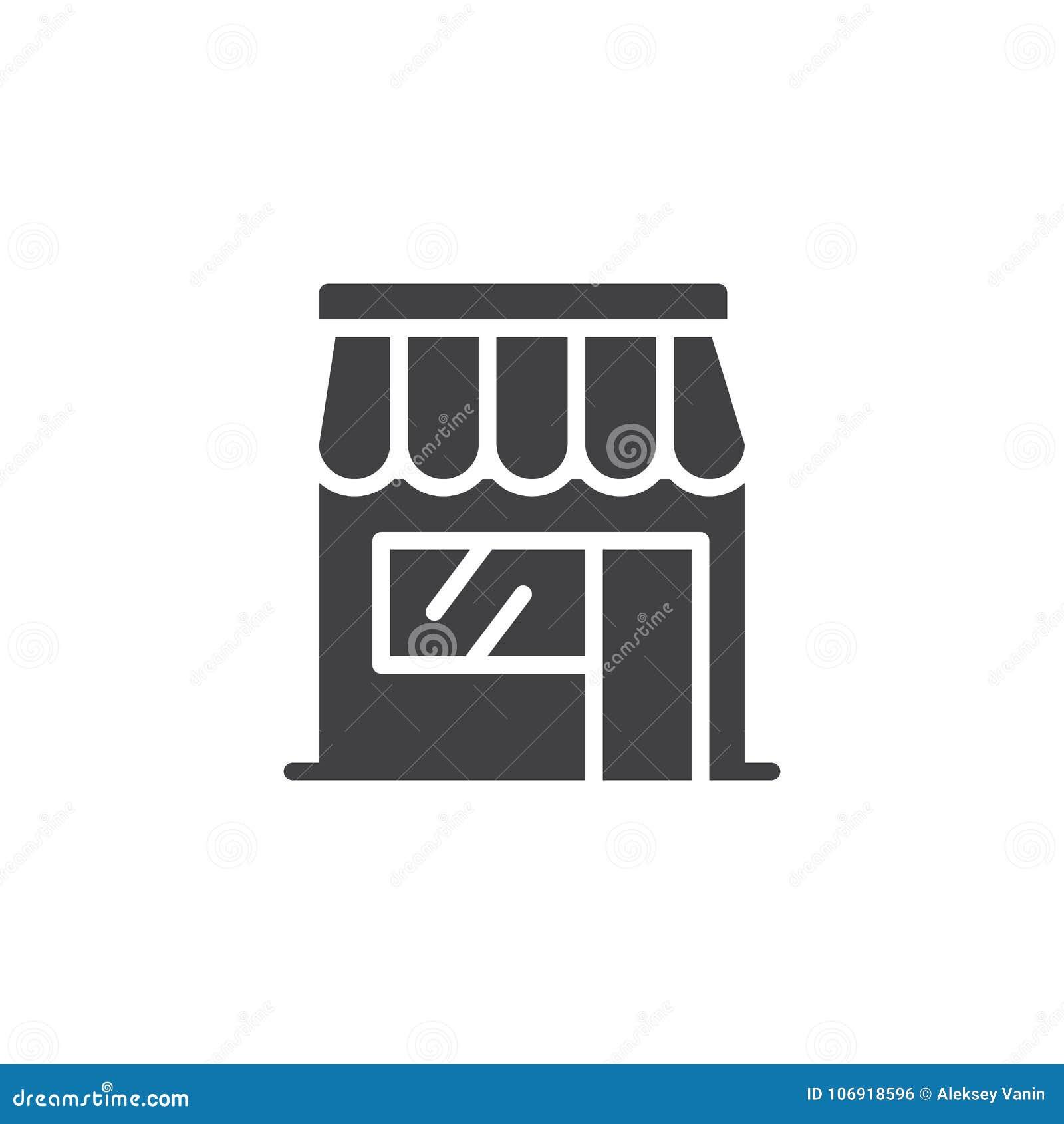 Sklepowy sklep ikony wektor