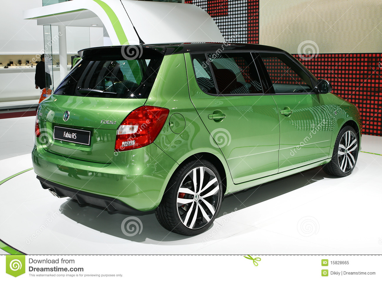 skoda fabia rs picture. Black Bedroom Furniture Sets. Home Design Ideas
